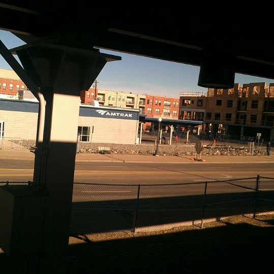 Photo taken at Denver Amtrak (DEN) by Mr T. on 2/22/2014