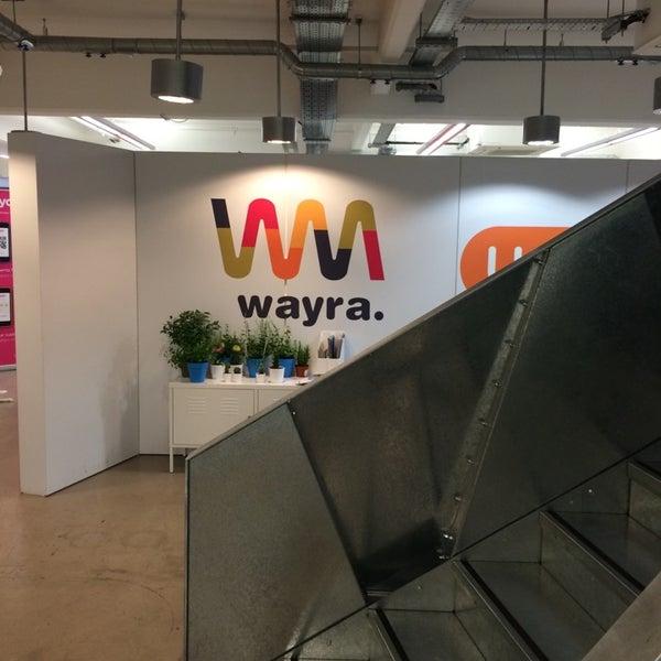 Photo taken at Wayra UK by Raj on 11/10/2014