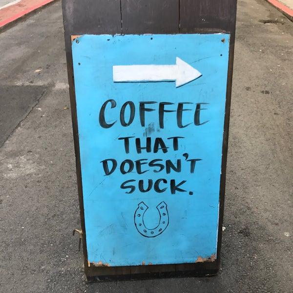 Photo taken at Iron Horse Coffee Bar by Raj on 11/29/2016