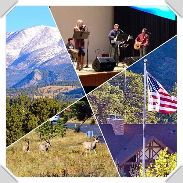 Photo taken at YMCA of the Rockies by Dustin C. on 10/4/2014