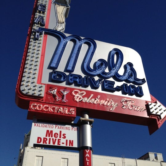 Photo taken at Mel's Drive-In by misdemeanor on 10/27/2012
