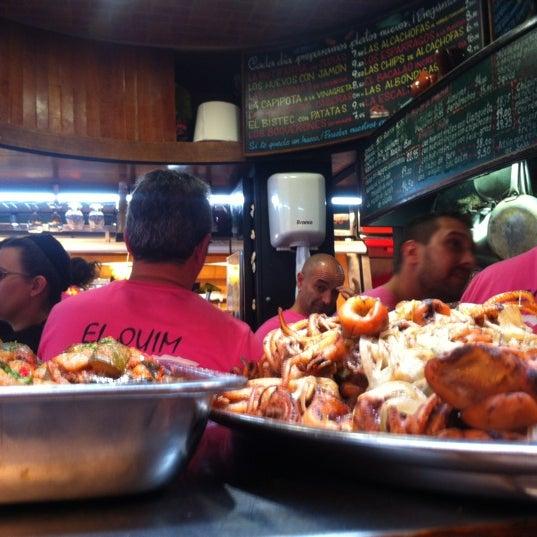 Foto tomada en El Quim de la Boqueria por Bart B. el 10/27/2012