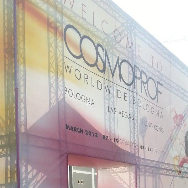 Foto scattata a Cosmoprof Bologna 2013 da Italo S. il 3/9/2013