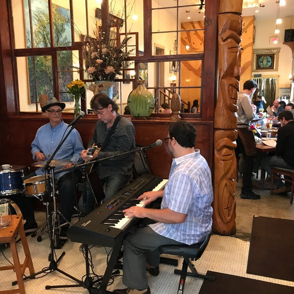 Photo taken at Atchafalaya Restaurant by Christopher P. on 4/23/2017