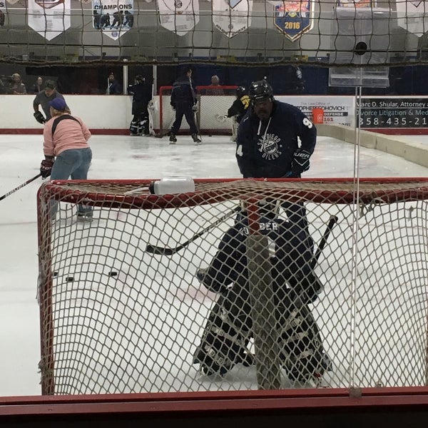 Photo taken at San Diego Ice Arena by Lars-Erik F. on 8/5/2017