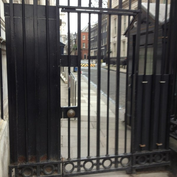 Photo taken at 10 Downing Street by Paul on 3/15/2013
