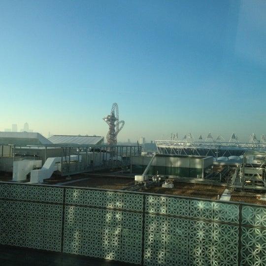 11/7/2012 tarihinde Chewyziyaretçi tarafından Queen Elizabeth Olympic Park'de çekilen fotoğraf