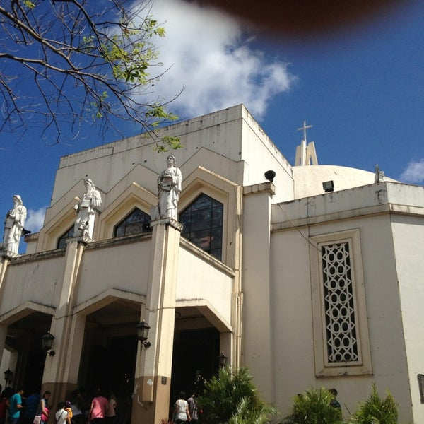 Photo taken at National Shrine of Our Lady of Peace and Good Voyage (Antipolo Cathedral) by Shyla G. on 1/20/2013