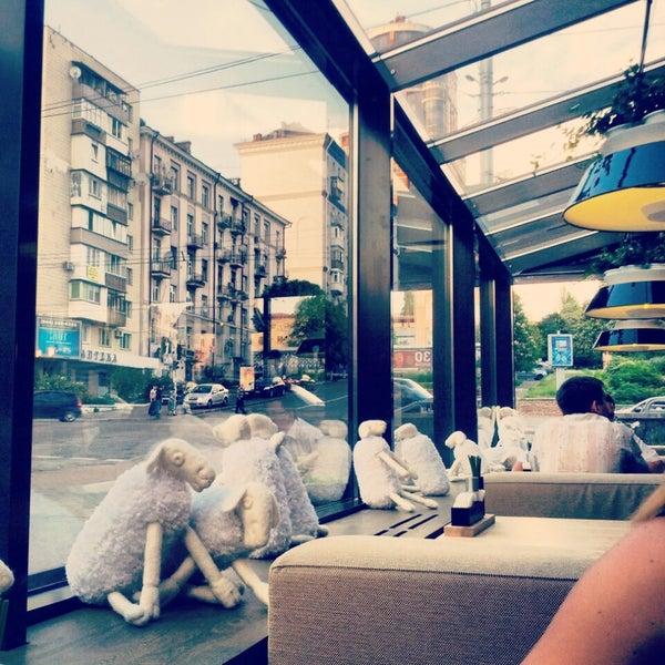 Снимок сделан в Ресторан ODESSA пользователем Maria L. 5/16/2013