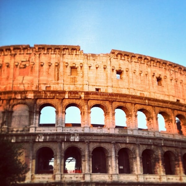 Photo taken at Piazza del Colosseo by Maksim on 10/5/2013