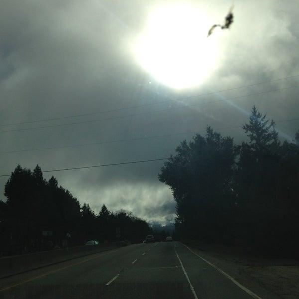 Photo taken at Santa Cruz Mountains by Lori A. on 1/26/2013