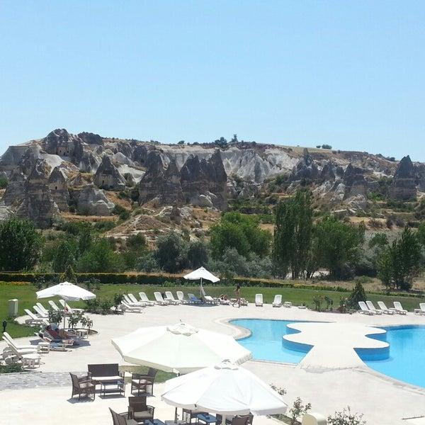 6/29/2013 tarihinde Dilan K.ziyaretçi tarafından Tourist Hotels & Resorts Cappadocia'de çekilen fotoğraf
