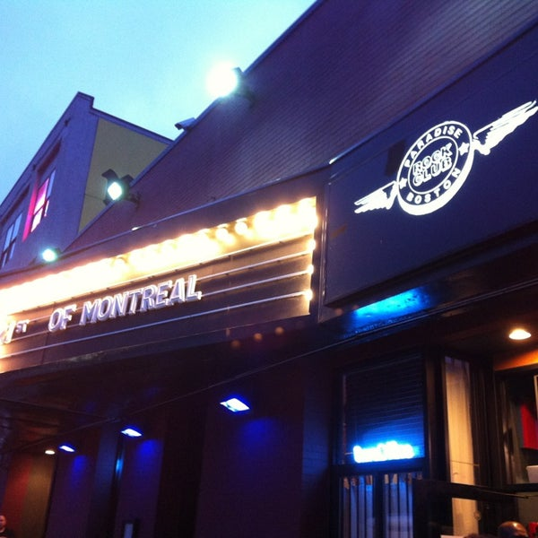 Photo taken at Paradise Rock Club by Ashley B. on 5/22/2013