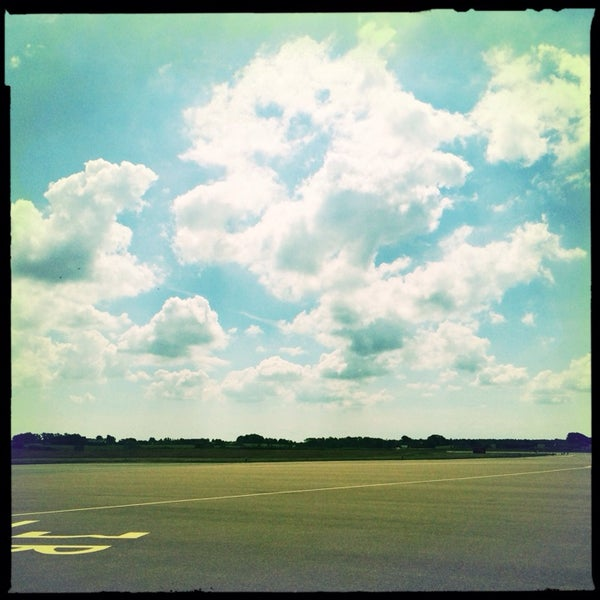Photo taken at Ängelholm-Helsingborg Airport (AGH) by Viktoria E. on 7/6/2014