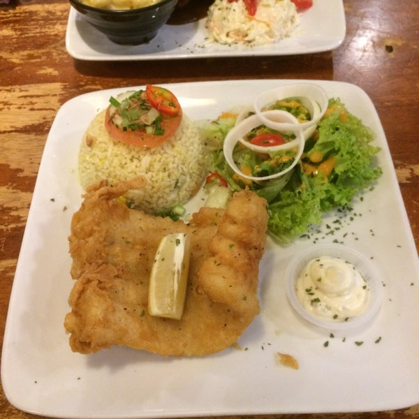 Photo taken at LeBOSS Restaurant by Iqram I. on 10/1/2016