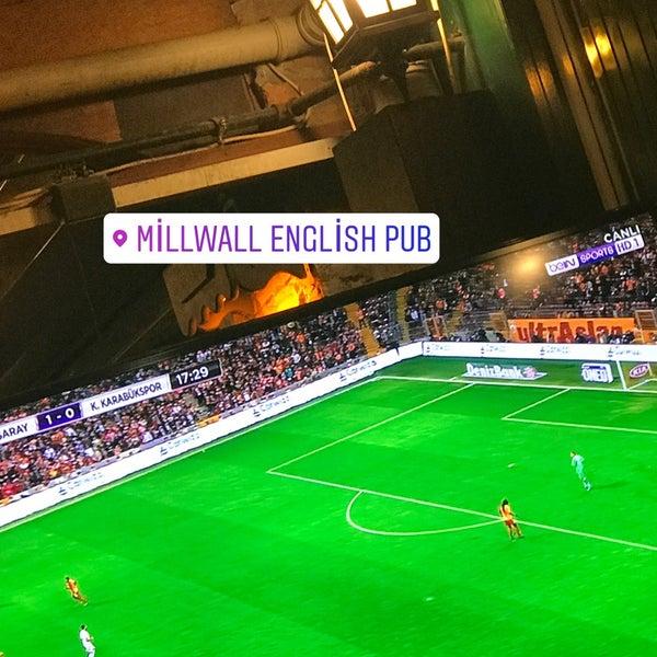Photo taken at Millwall English Pub by Armanc G. on 9/30/2017