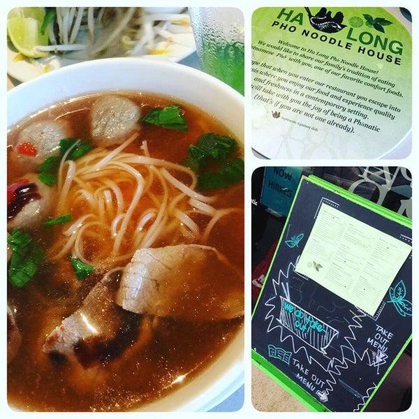 Photo taken at Ha Long Pho Noodle House by Scott K. on 9/4/2015