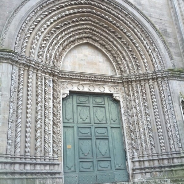 Photo taken at Basilica di San Fortunato by Sasa on 1/3/2014