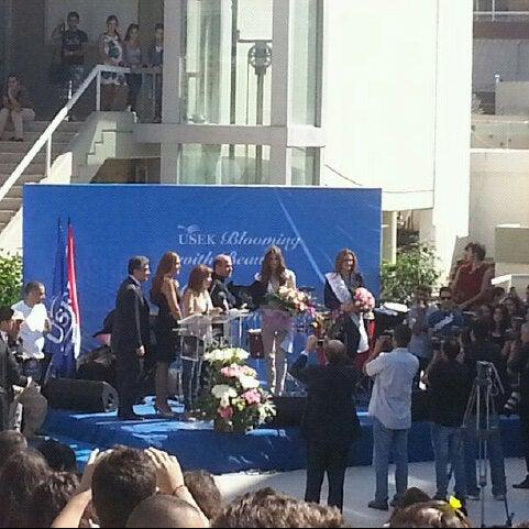 Photo taken at Holy Spirit University Of Kaslik by Georges A. on 10/18/2012