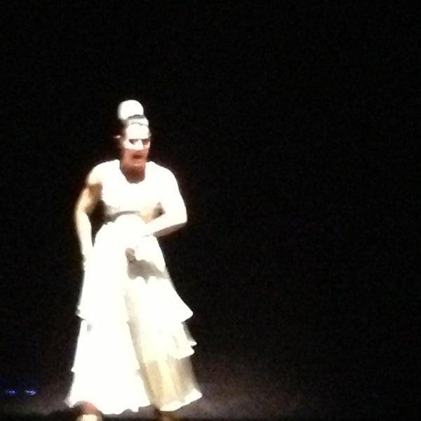 Photo taken at Palacio del Flamenco by Fehmi on 1/26/2013