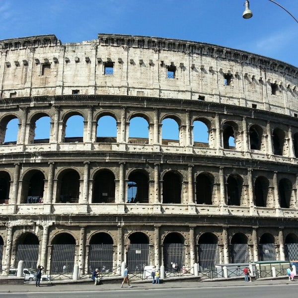 Photo taken at Piazza del Colosseo by Ruben M. on 5/29/2014