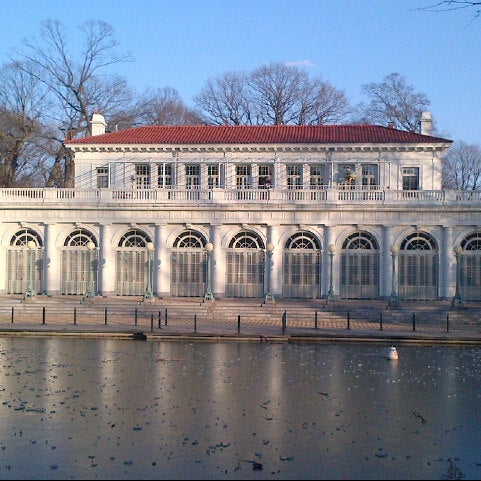 Photo taken at Prospect Park Boathouse & Audubon Center by Rhea L. on 1/6/2013