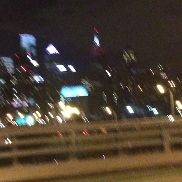 Photo taken at South Street Bridge by J G. on 12/26/2014