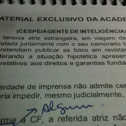 Foto tirada no(a) Academia do Concurso por Guilherme L. em 7/30/2012