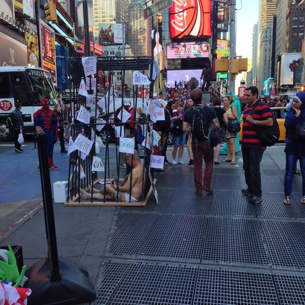 "Photo taken at Max Neuhaus ""Times Square"" by Kevin R. on 9/19/2013"