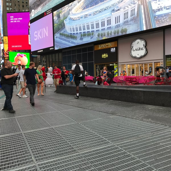 "Photo taken at Max Neuhaus ""Times Square"" by Kevin R. on 6/23/2017"