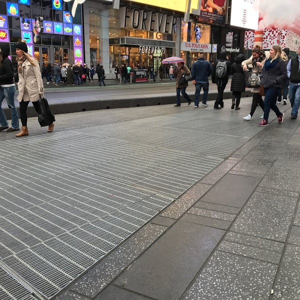 "Photo taken at Max Neuhaus ""Times Square"" by Kevin R. on 3/24/2017"