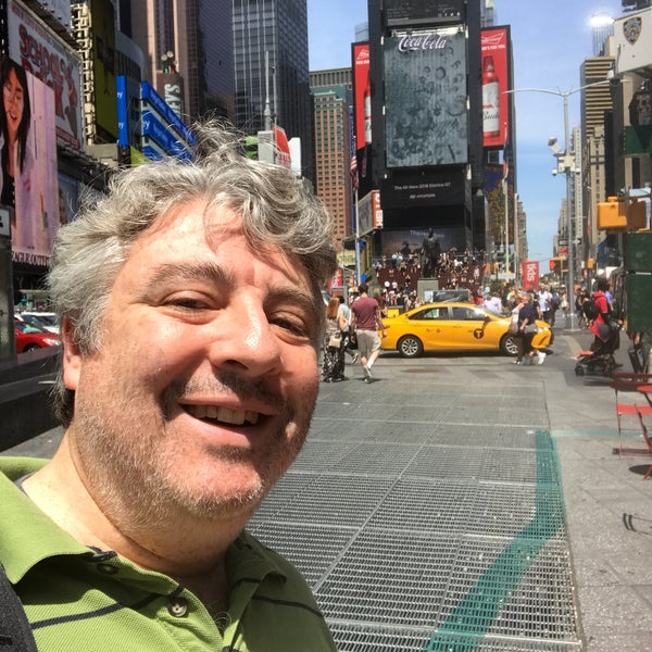 "Photo taken at Max Neuhaus ""Times Square"" by Kevin R. on 7/21/2017"