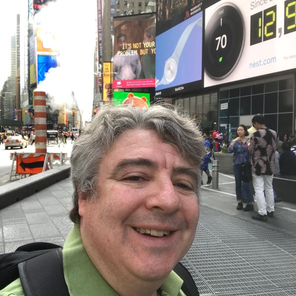 "Photo taken at Max Neuhaus ""Times Square"" by Kevin R. on 4/17/2017"