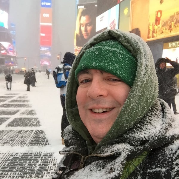 "Photo taken at Max Neuhaus ""Times Square"" by Kevin R. on 1/23/2016"