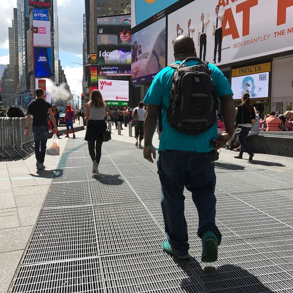 "Photo taken at Max Neuhaus ""Times Square"" by Kevin R. on 9/8/2017"