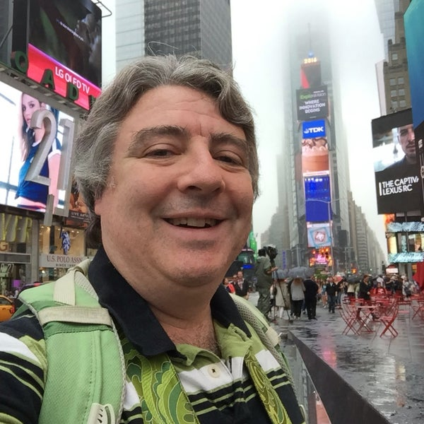 "Photo taken at Max Neuhaus ""Times Square"" by Kevin R. on 6/5/2016"