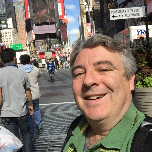 "Photo taken at Max Neuhaus ""Times Square"" by Kevin R. on 10/4/2016"