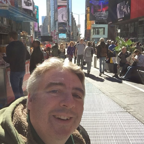 "Photo taken at Max Neuhaus ""Times Square"" by Kevin R. on 10/14/2016"
