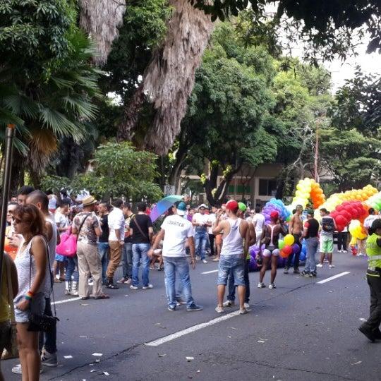 Photo taken at Barrio Granada by Sebastián A. on 6/29/2014