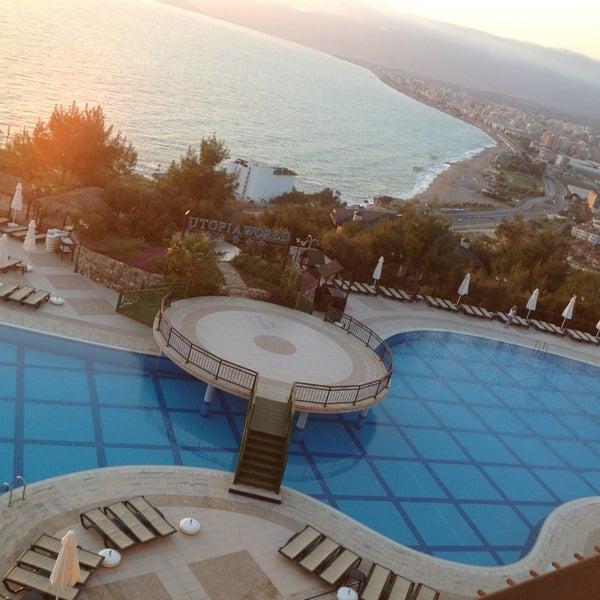 4/10/2013 tarihinde Elif K.ziyaretçi tarafından Utopia World Hotel'de çekilen fotoğraf