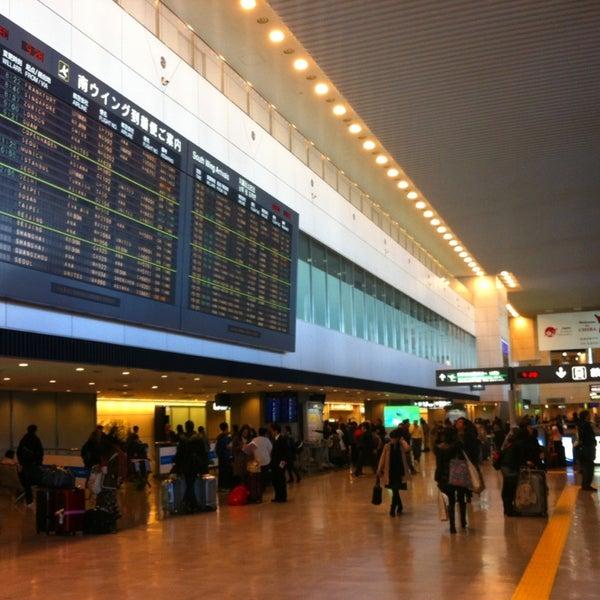 Photo taken at Narita International Airport (NRT) by Daniel S. on 12/19/2012
