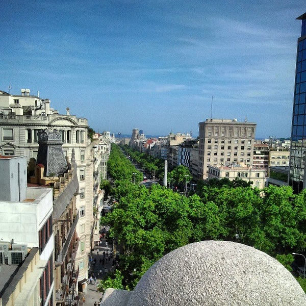 Photo taken at Hotel Casa Fuster by La meva Barcelona on 6/6/2013