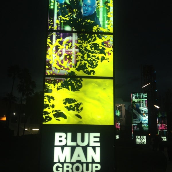 Photo taken at Blue Man Group at Universal CityWalk by 🌺 Alison 🌺 on 2/24/2013
