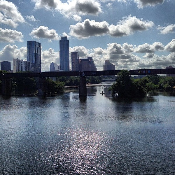 Photo taken at Lady Bird Lake Trail by Joanna L. on 7/20/2013