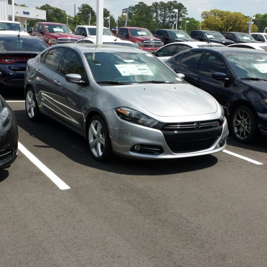 Photo Taken At Rick Hendrick Jeep Chrysler Dodge RAM By Jaleel J. On 4/