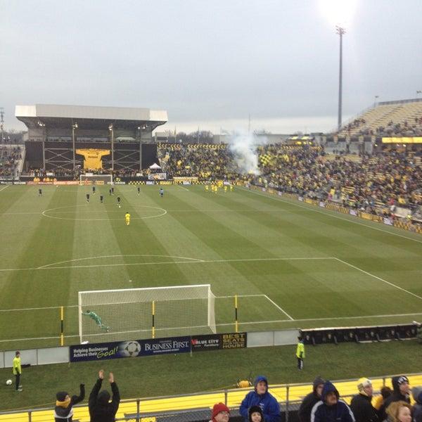 Photo taken at MAPFRE Stadium by Alex M. on 3/16/2013