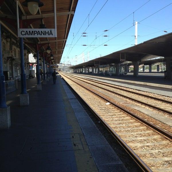 Photo taken at Estação Ferroviária de Porto-Campanhã by Litos on 5/25/2013