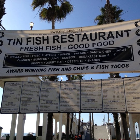 Tin fish downtown oceanside 6 tips for Best fish and chips in san diego