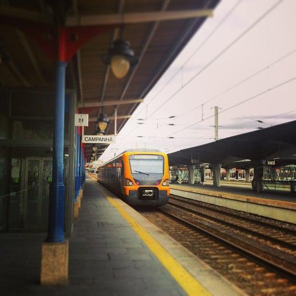 Photo taken at Estação Ferroviária de Porto-Campanhã by CAssis on 1/29/2013
