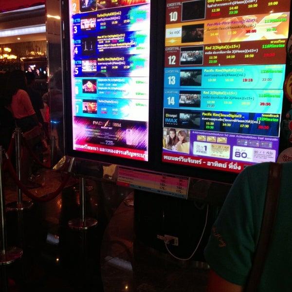 Photo taken at Major Cineplex Ratchayothin by 🎟Praewwa🎟 on 7/19/2013